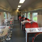 Polish Railways Restaurant Car