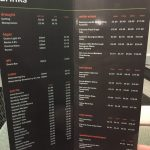 IBIS Styles London Heathrow Drinks Menu