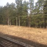 View from Riga to Valga Train