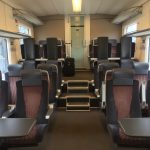 Estonian Train First Class