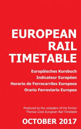 European Rail Timetable October 2017