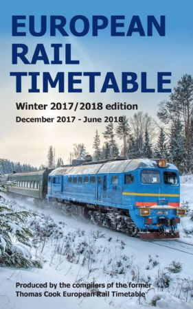 European Rail Timetable Winter 17/18