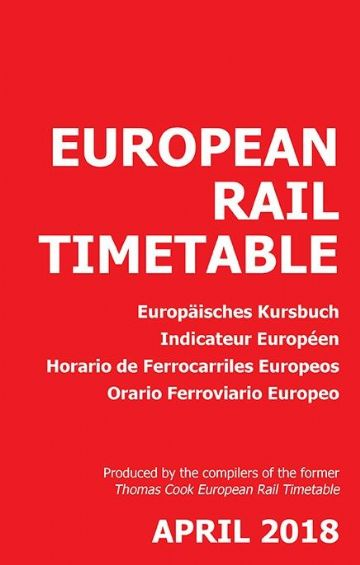 European Timetable April 2018