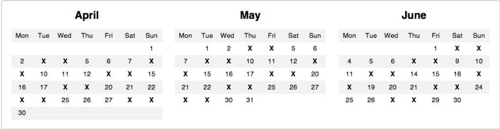 french rail strike dates