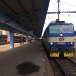 Cheb to Prague Train