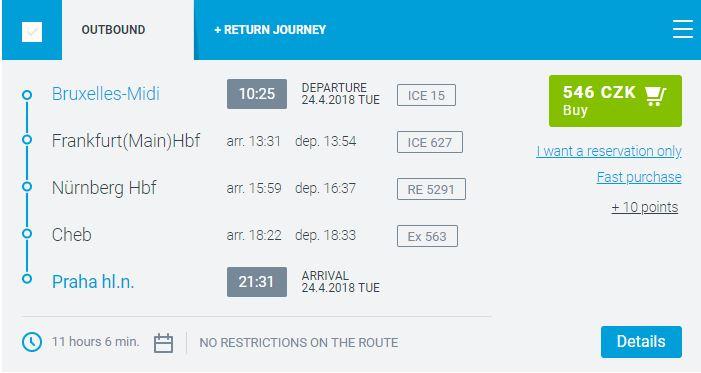 "Czech Railways ""Via"" Result"