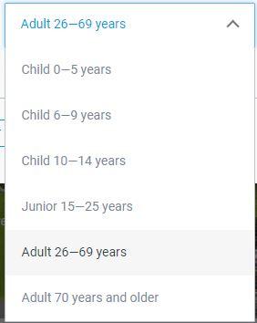 Czech Railways Passenger Age Information