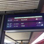 RE 5289 Departure Board