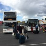 Buses from Stena Line into Dublin