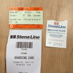 Stena Boarding Pass