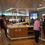 Stena Lounge Food Area