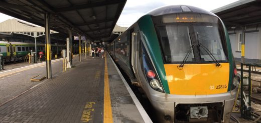 The Dublin to Athlone Train
