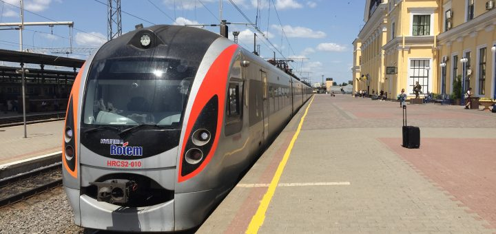 Ukrainian InterCity Train