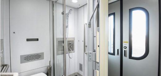 Rossia 4 berth bathroom