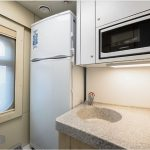 Rossia 4 berth kitchen