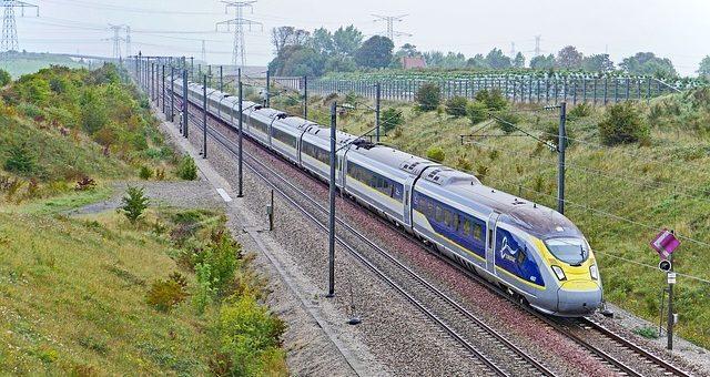 Eurostar E320 En Route