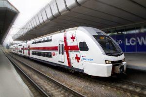 Georgian Railways Train