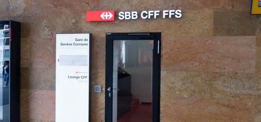 SBB First Class Lounge