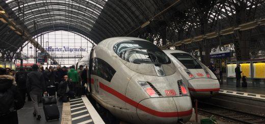 Deutsche Bahn ICE3 Frankfurt