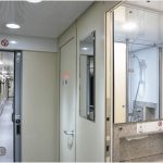 Rossia 4 berth bathroom