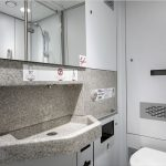 Rossia 4 berth toilet