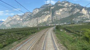 En route in Italy