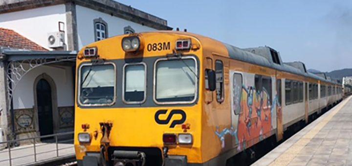 Porto to Vigo Train